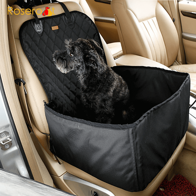 Safety Pet Car Cover Foldable Waterproof Pet Car Seat Cover Dog Car Seat