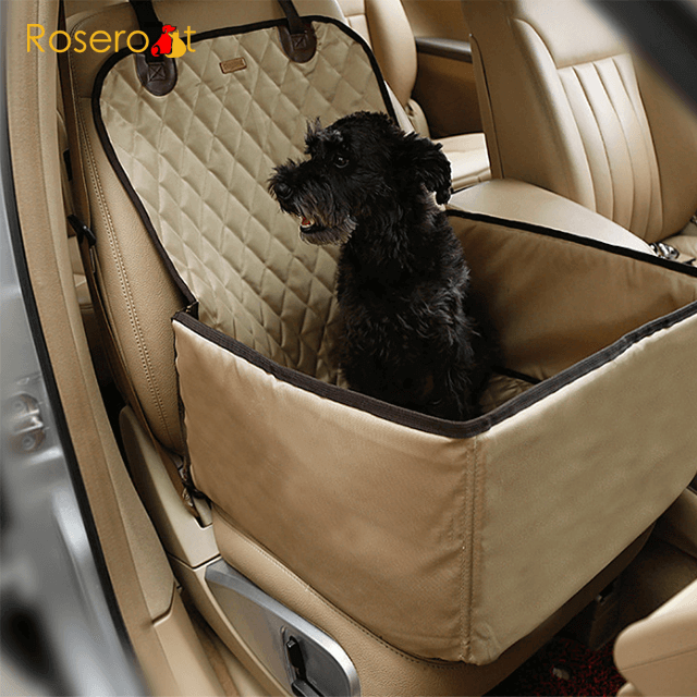 Safety Pet Car Cover Foldable Waterproof Pet Car Seat Cover Dog Car Seat1