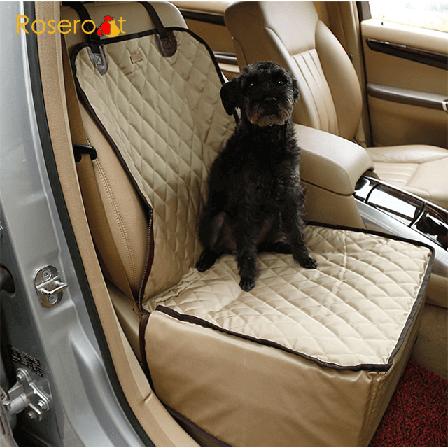 Safety Pet Car Cover Foldable Waterproof Pet Car Seat Cover Dog Car Seat4