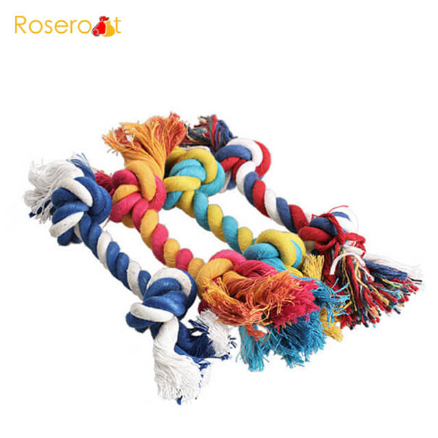 dog toy rope clean teeth