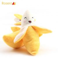 plush toy dog banana